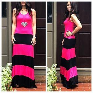 Dresses & Skirts - ✨RESTOCKED✨Color block maxi dress